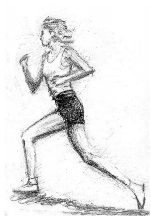 Drawing exercise of human body proportions – CHERKOV
