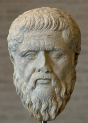 """אפלטון בין 429 ל-427 לפנה""""ס - 347 לפנה""""ס"""