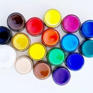 סט צבעי אקריליק