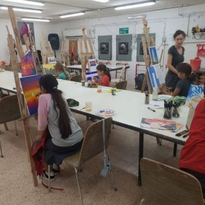 סדנאות אמנות לילדים